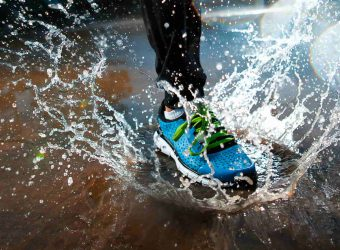 ריצה בגשם